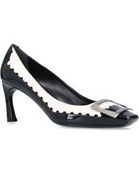 Roger Vivier - Cut-out Trompette Court Shoes 70 - Lyst
