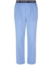 Polo Ralph Lauren - Check Pyjama Trousers - Lyst