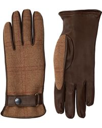 James Purdey & Sons - Leather Tweed Gloves - Lyst