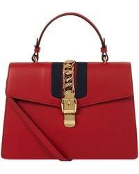 Gucci - Sylvie Medium Shoulder Bag - Lyst