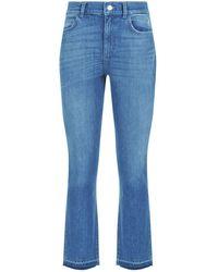 Claudie Pierlot | Cropped Slim-fit Jeans | Lyst