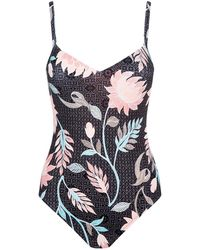 Seafolly | Sweetheart Floral Printed Swimsuit | Lyst