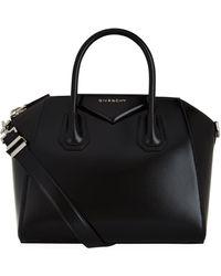 Givenchy Small Antigona Smooth Leather Shoulder Bag