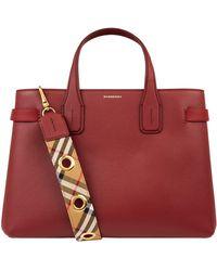 Burberry - Medium Banner Bag - Lyst