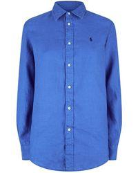 Polo Ralph Lauren - Linen Shirt - Lyst
