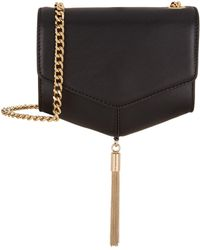 Sandro - Chain Strap Cross Body Bag - Lyst