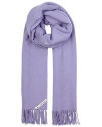 Acne Studios - Canada Lilac Wool Scarf - Lyst