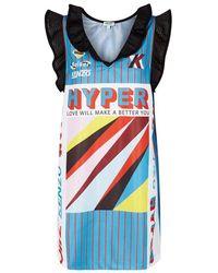 KENZO - Hyper Printed Jersey Dress - Lyst