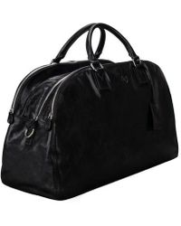 Maxwell Scott Bags - Black Ladies Leather Travel Bag - Lyst