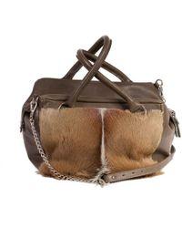 Sherene Melinda - Apple Green Box Bag With A Fan - Lyst