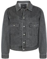 Saturdays NYC - Ray Faded Denim Jacket - Lyst