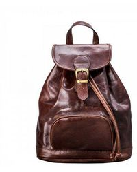Maxwell Scott Bags - Sparano Leather Women Backpack - Lyst
