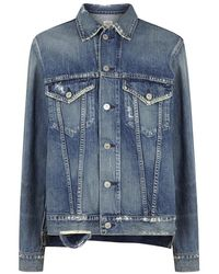 Citizens of Humanity | Crista Distressed Oversized Denim Jacket | Lyst