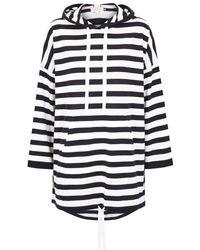 DEMYLEE - Haddy Striped Hooded Wool Jumper - Lyst