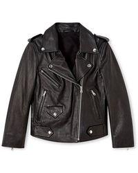 Rebecca Minkoff - Wes Moto Jacket - Lyst