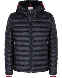 Moncler - Giroux Navy Quilted Shell Jacket - Lyst