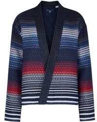 Levi's - Striped Woven Cotton-blend Jacket - Lyst