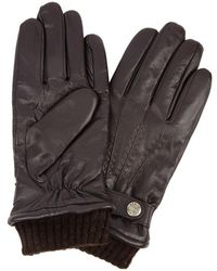 Dents - Henley Brown Touchscreen Leather Gloves - Lyst