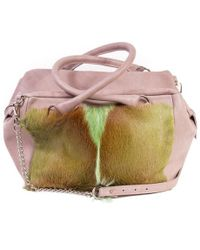 Sherene Melinda - Olive Box Bag With A Fan - Lyst