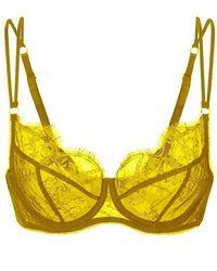 Fréolic London - Brigitte Bra Golden Yellow - Lyst