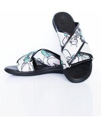 Jamie Wei Huang - Nibbana Slip On Cream-black - Lyst