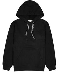 Proenza Schouler - Black Hooded Cotton Sweatshirt - Lyst