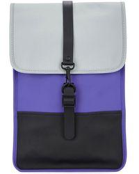 Rains - Mini Rubberised Backpack - Lyst