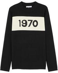 Bella Freud - 1970 Metallic-knit Wool-blend Jumper - Lyst