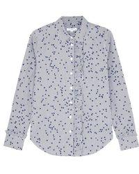 Equipment - Jesper Star-print Cotton Shirt - Lyst