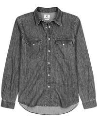 PS by Paul Smith - Grey Denim Shirt - Lyst