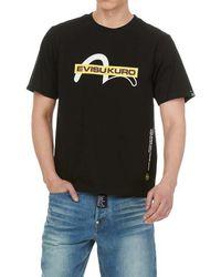 5a4367c67311 Evisu Genes Baby God Head T Shirt in Black for Men - Lyst