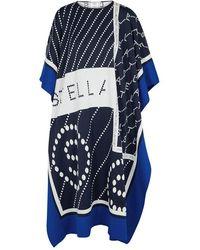 Stella McCartney - Logo-print Woven Cape - Lyst