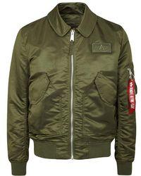 Alpha Industries - Cwu Olive Shell Flight Jacket - Size M - Lyst