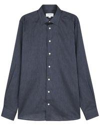 Eton of Sweden - Navy Contemporary Cotton Shirt - Lyst