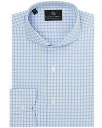Chester Barrie - Grid Check Shirt - Lyst