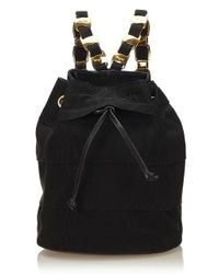 Ferragamo - Black Backpack - Lyst
