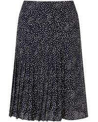 Jigsaw - Snow Drop Pleated Skirt - Lyst
