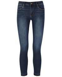Articles of Society - Carly Distressed Skinny Jeans - Lyst