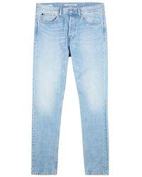 Calvin Klein Jeans - Light Blue Skinny Jeans - Lyst