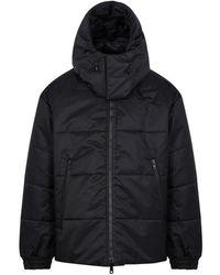 Y-3 - Black Reversible Nylon Coat - Lyst