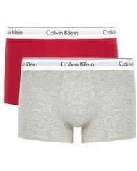 CALVIN KLEIN 205W39NYC - Stretch Cotton Boxer Briefs - Lyst