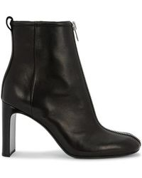 Rag & Bone - Ellis Zipped Leather Ankle Boots - Lyst