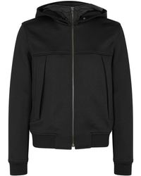 Wooyoungmi - Black Hooded Cotton Blend Jacket - Lyst