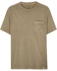 Dockers - Stone Cotton T-shirt - Lyst