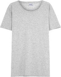 Pink Pony | Grey Mélange Cotton T-shirt | Lyst