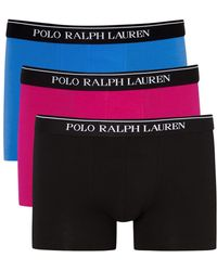 Pink Pony - Stretch Cotton Boxer Briefs - Set Of Three - Lyst