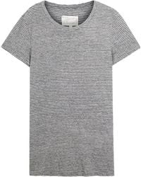 Current/Elliott - Petit Striped Jersey T-shirt - Lyst