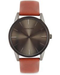 Unknown - The Classic Gunmetal Stainless Steel Watch - Lyst