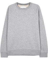 Our Legacy - Light Grey Cotton Blend Sweatshirt - Lyst