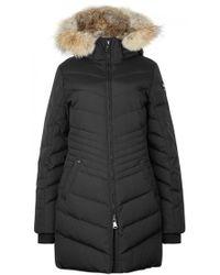 Pajar - Brooklyn Black Fur-trimmed Parka - Size M - Lyst